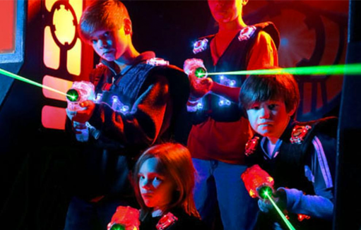 Laser Tag - Escape to laser tag fun for you and all your friends